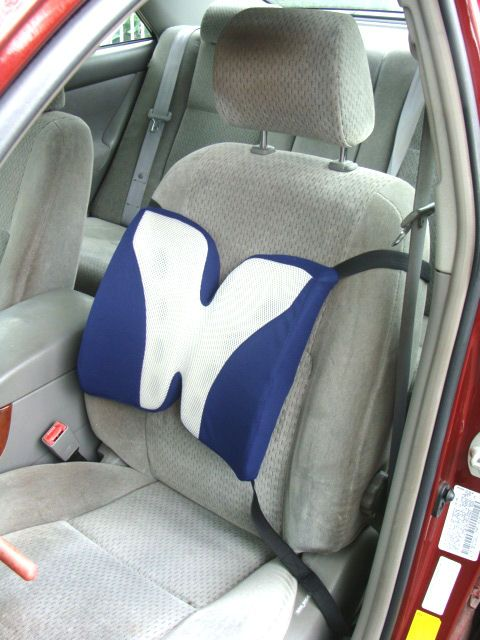 Back Support For Chair Or Auto Seat Cushion Review