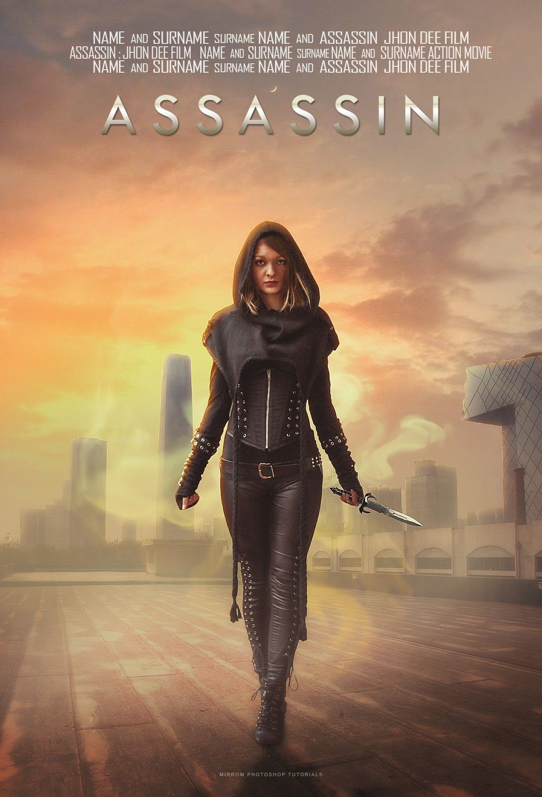 Create a Assassin Movie Poster Manipulation in Photoshop ...
