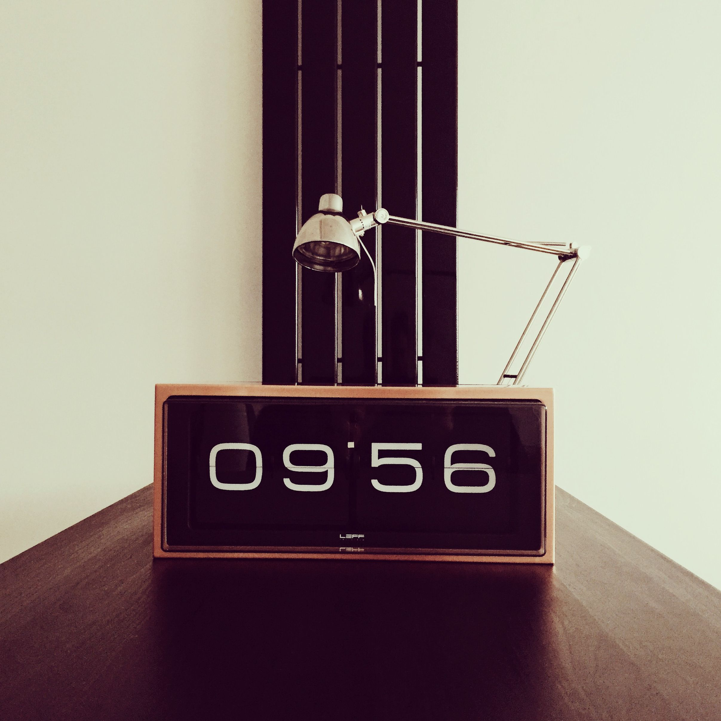 LEFF Amsterdam Brick Flip Clock In Copper   Instagram.com/iam_lowe Images