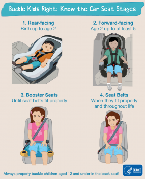 Buckle Kids Right Know The Car Seat Stages 1 Rear Facing