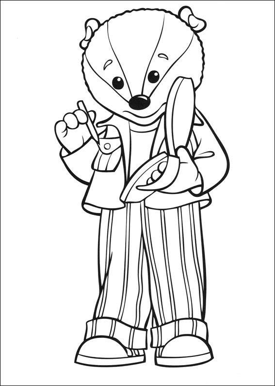 Tegninger til Farvelægning Rupert 7