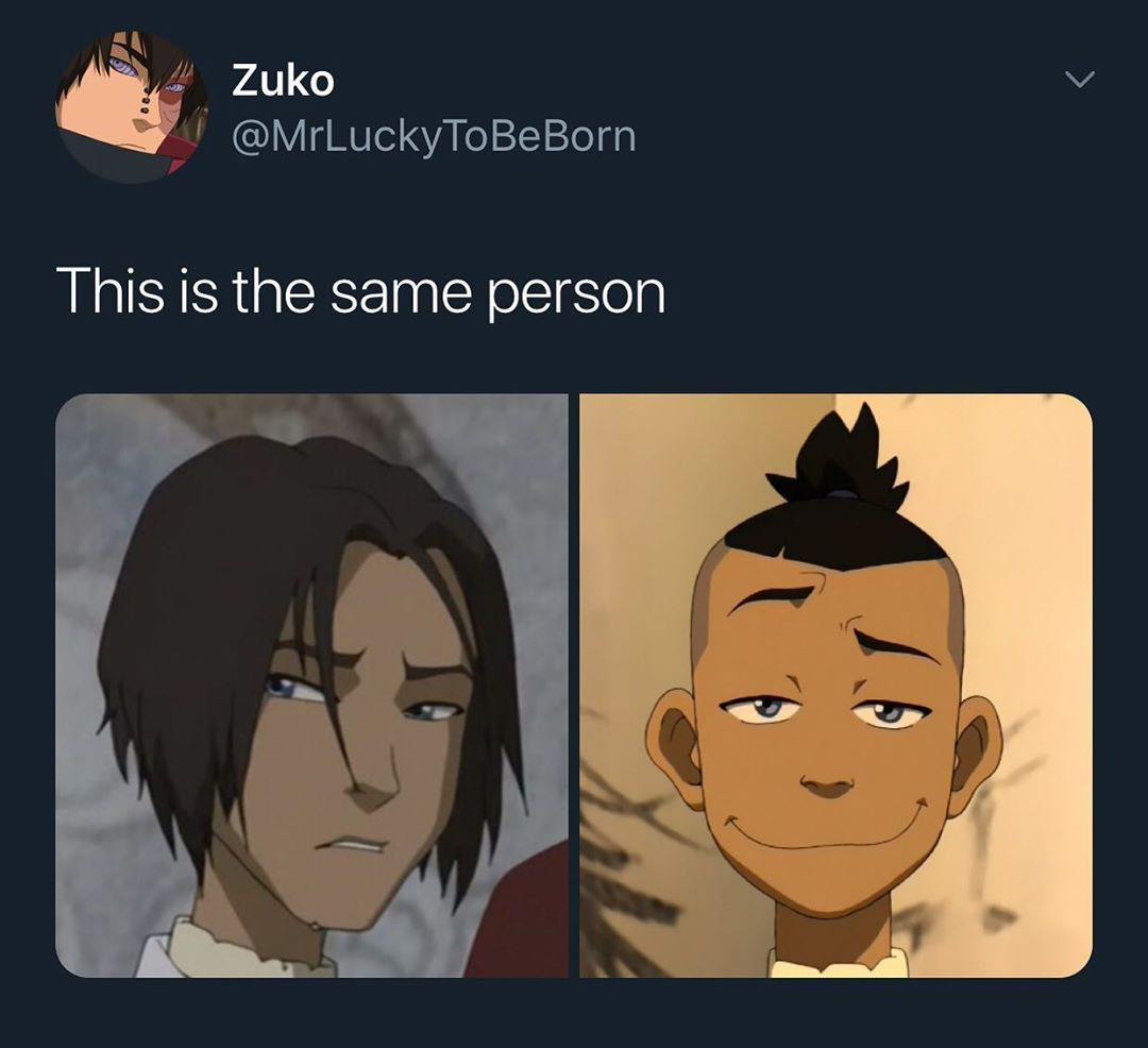 64 3k Likes 394 Comments Prince Zuko Thats Rough Buddyyy On Instagram Sokka With His Hair Down Was In 2020 Avatar Airbender The Last Avatar The Last Airbender