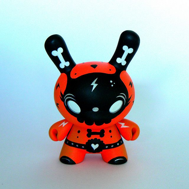 Squink, Custom Dunny, Flash!