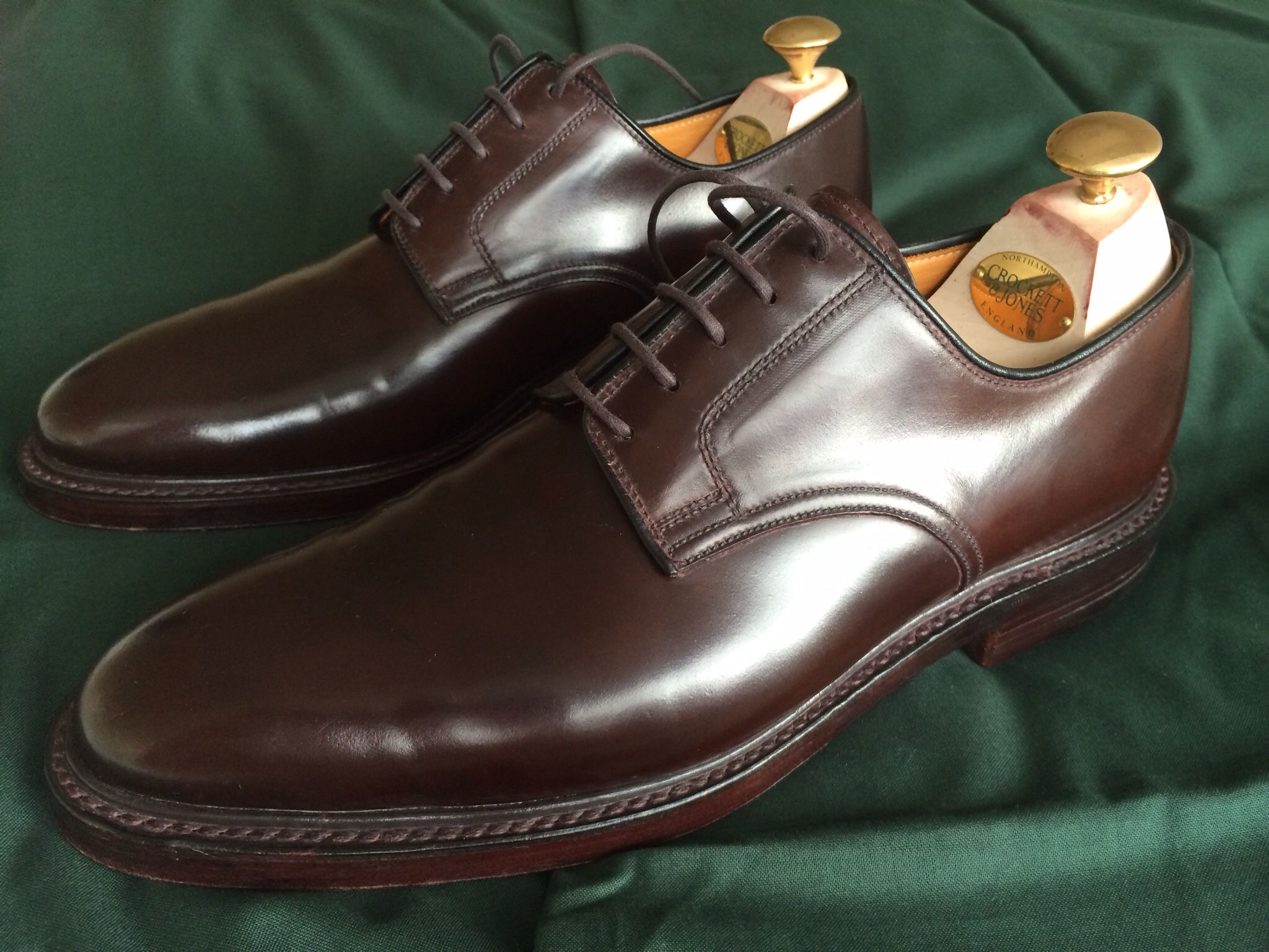 Bergandy Shoes Mens