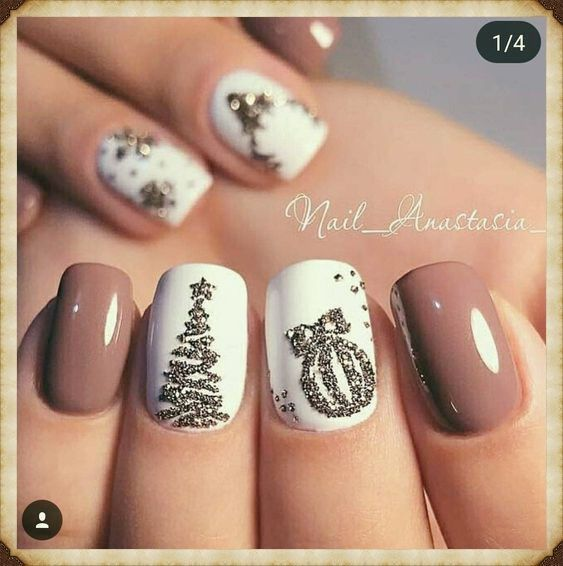 Fantastic Photographs Fall Nail Art wedding Suggestions Give golden glitters your fall-perfect replace having an uber fairly september leaf in shiny o... - #fantastic #glitters #golden #perfect #photographs #suggestions #wedding