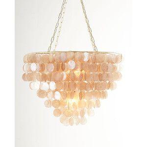 Rosalea two light capiz shell chandelier zavese pinterest rosalea two light capiz shell chandelier aloadofball Images