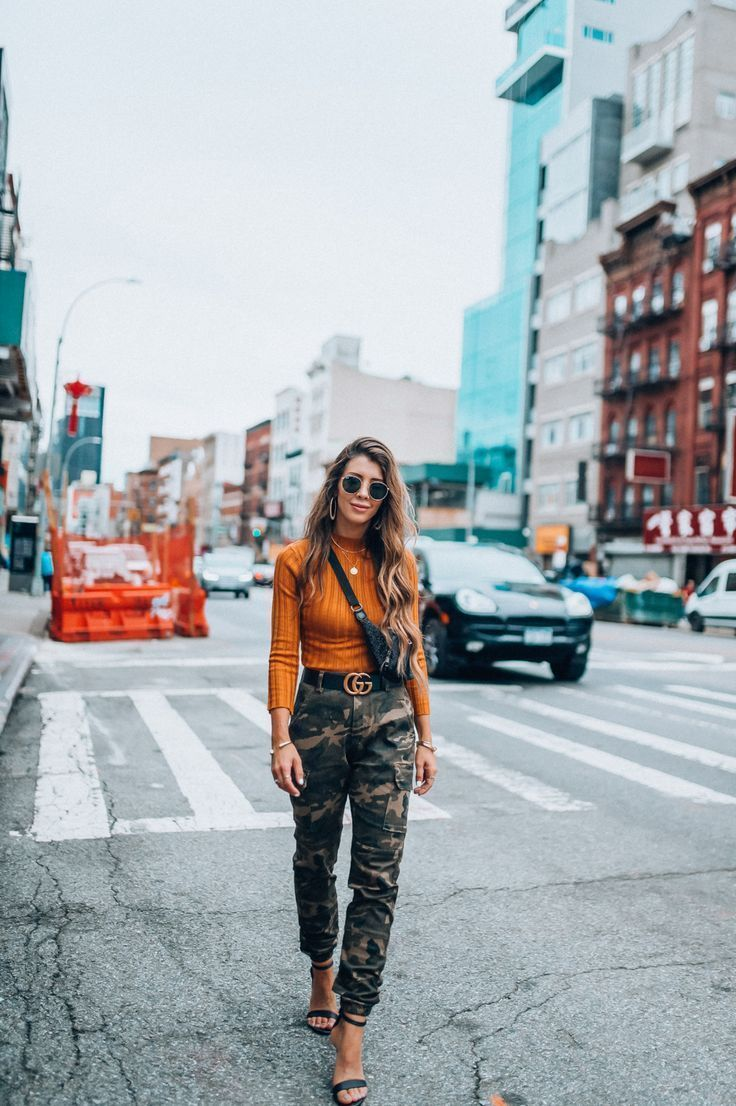 New York Fashion Week Trends: Camo | The Girl in the Yellow Dress Trendy Outfits