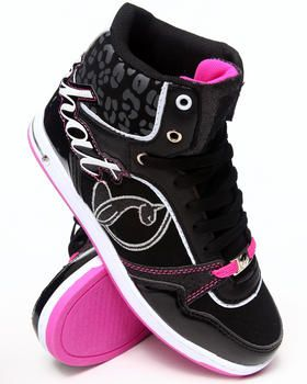 3208a4817438 Buy Lana Heel Logo Cheetah Trim Sneaker Women s Footwear from Baby Phat.  Find Baby Phat fashions   more at DrJays.com