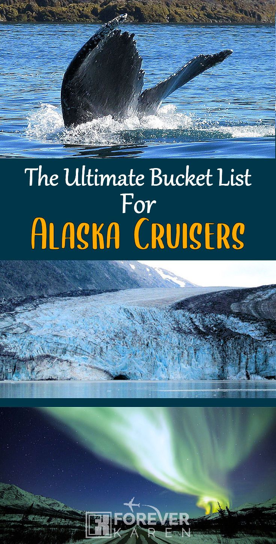 Top Alaska Bucket List Experiences Alaska bucket list
