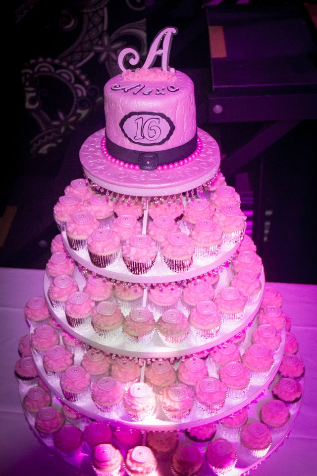 Sweet 16 Bree I Love The Idea Of Cupcakes Instead A Cake