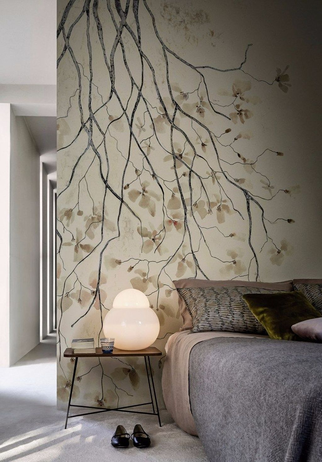 inspiring wall wallpaper design ideas to decorate your home also rh pinterest
