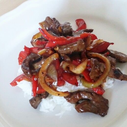 Asian Style Beef Liver