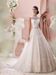 Online Shop Free shipping lace wedding dress bride 2015 wedding dresses bridal fashion vestidos de encaje vestido renda vestidos de boda del|Aliexpress Mobile
