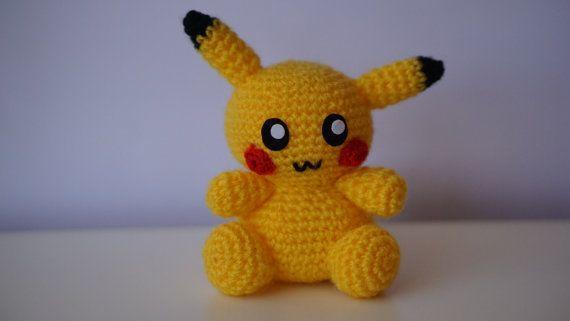 Amigurumi Patterns Pikachu : Pikachu amigurumi pattern pokemon go easy diy pdf crochet tutorial