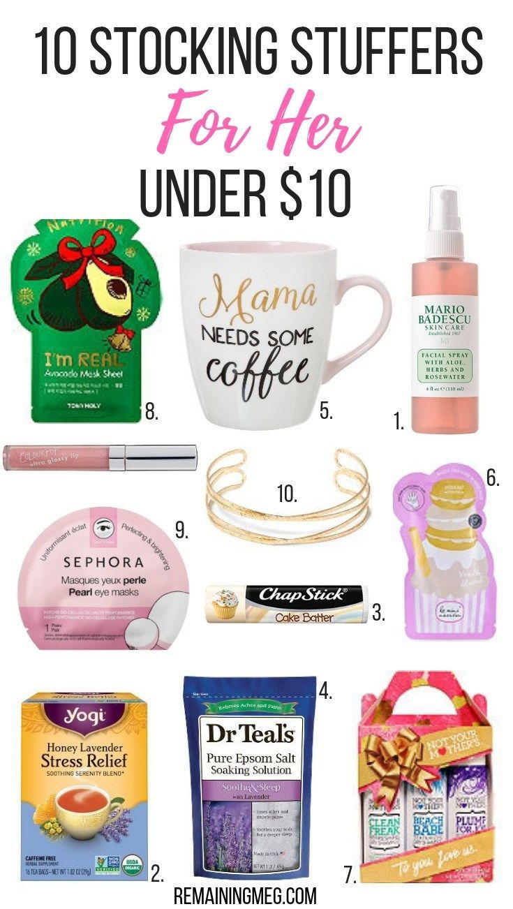 10 Stocking Stuffers For Mom Under 10 Remaining Meg Stocking Stuffers For Mom Stocking Stuffers For Her Diy Gifts For Girlfriend