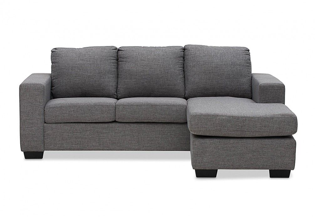 New Bargains on 3-Piece Modern Reversible Sectional Sofa ...