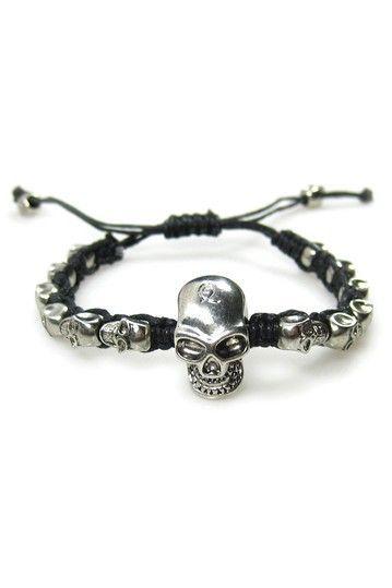 Many Skulls Bracelet Skull Mens Jewelry