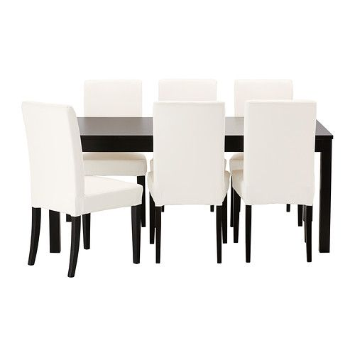 BJURSTA / HENRIKSDAL Tafel met 6 stoelen IKEA | Ideeën voor het huis ...