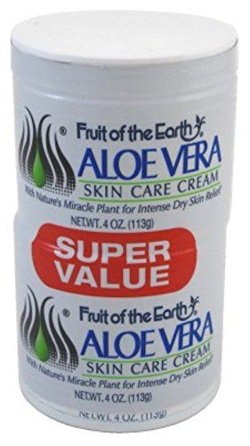 Fruit Of The Earth Bogo Cream Aloe Vera 4oz Jar 6 Pack You Can Find Out More Details At The Link Of The Aloe Vera Cream Aloe Vera Skin Care