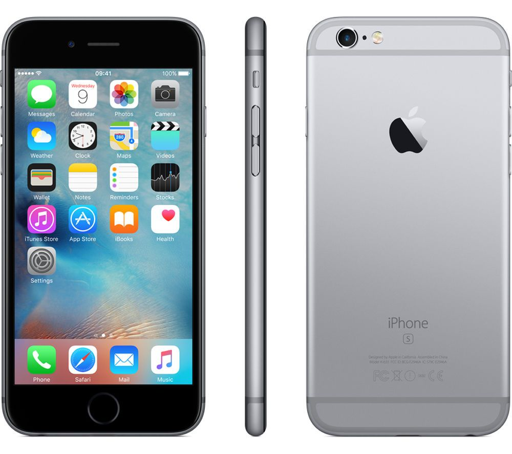 Iphone 6s 16gb Gray Factory Gsm Unlocked 6 S Apple 16 Gb Space Grey New Ebay Apple Iphone 6s Iphone Apple Iphone 6s Plus