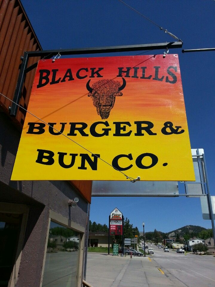 Black Hills Burger Bun Co South Dakota Vacation Black Hills Travel South