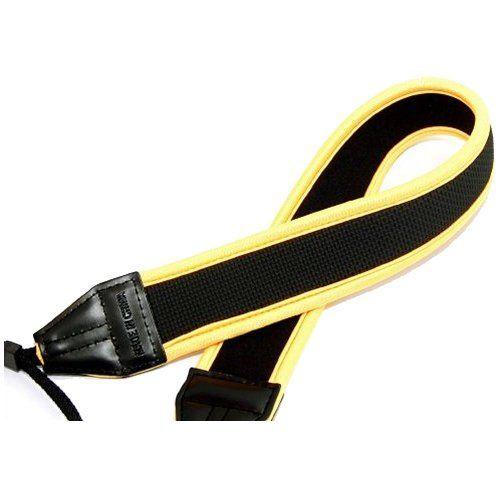 CowboyStudio Yellow High Quality Neoprene Neck Strap for Canon Nikon