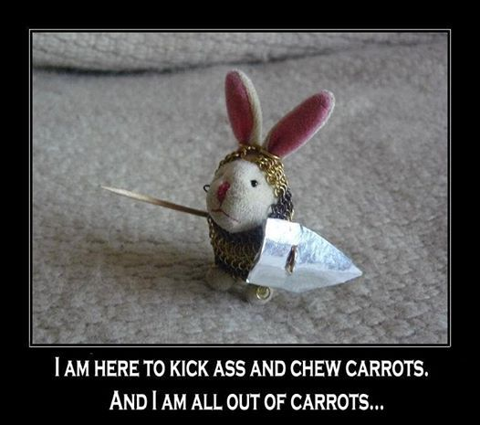Kick Ass and Chew Carrots... | Laughter = Medicine | Funny ...