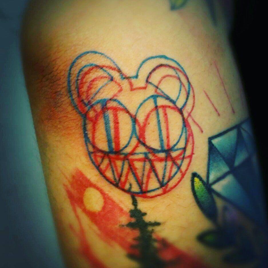 Resultado de imagen para radiohead tattoo tatuaje