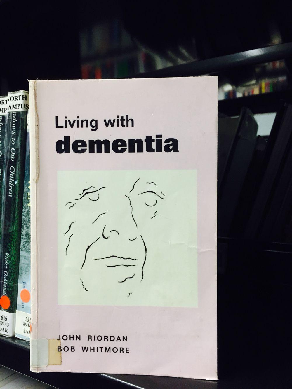 Dementia Dementia, Research, Book cover