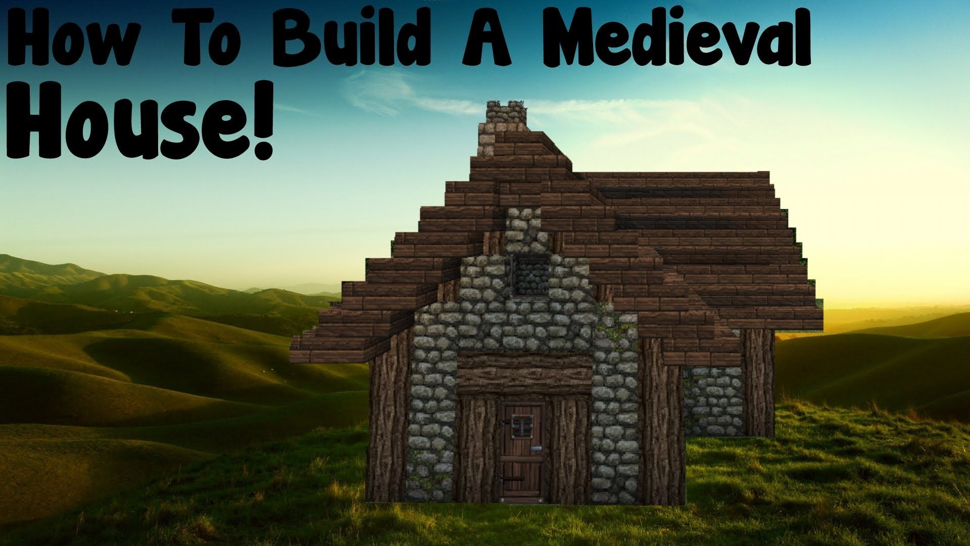 Minecraft Tutorial - How To Build A Medieval Small House - YouTube ...
