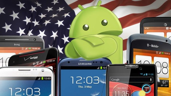 The best Android smartphones on U.S. carriers [late 2012]