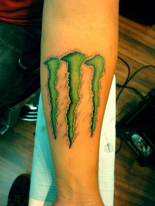 Monster Go Justin Monster Tattoo Symbolic Tattoos
