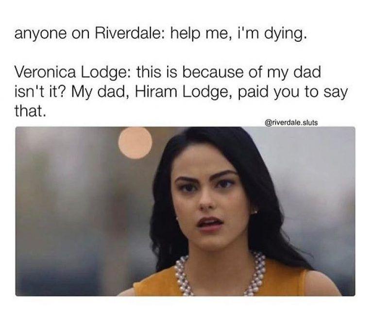 Best 18 riverdale memes