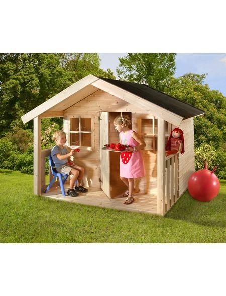 Mr Gardener Kinderspielhaus Nick 180 X 180 Cm Kinderspielhaus Spielplatz Spielhaus