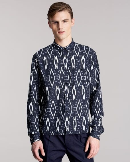 Love the print, love the shirt...
