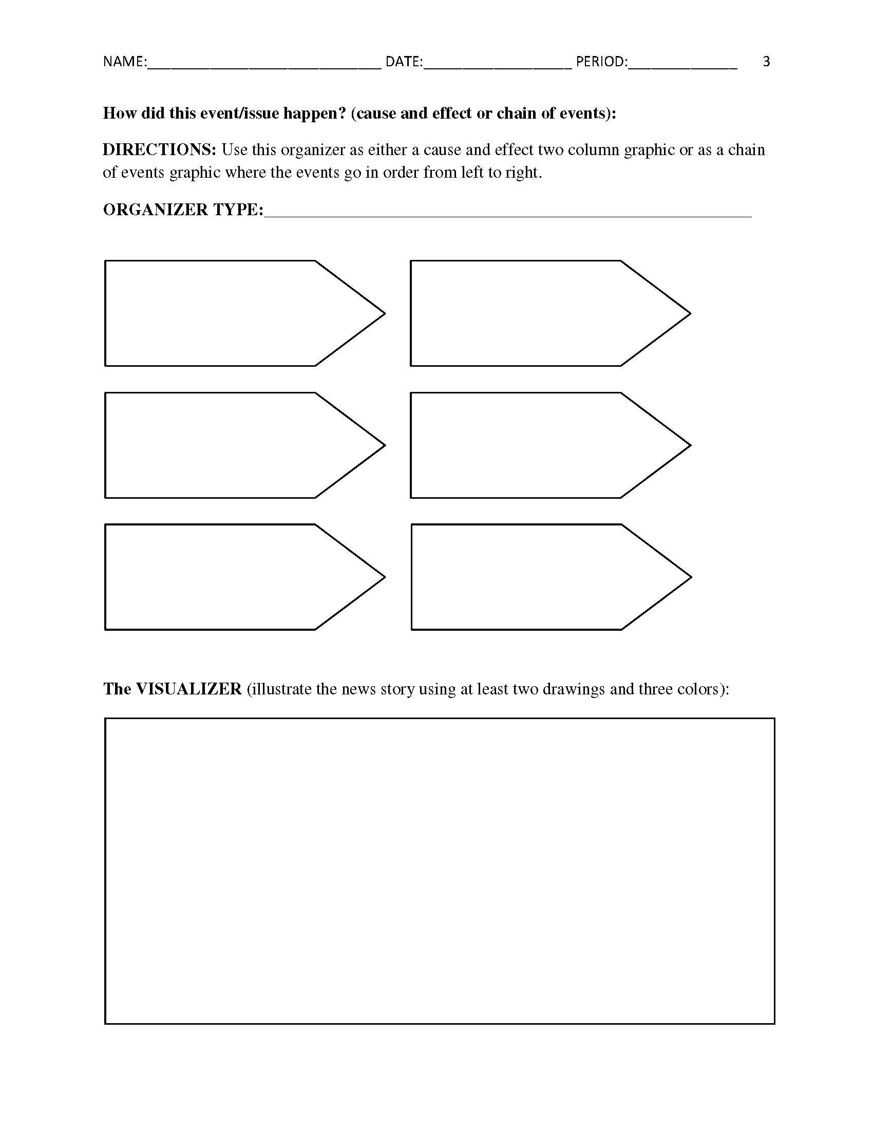 worksheet Current Events Worksheet free current events report worksheet for classroom teachers teachers