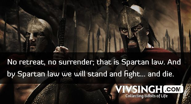 18 Superb Quotes and Moments from the Movie 300 | Grown up Techie