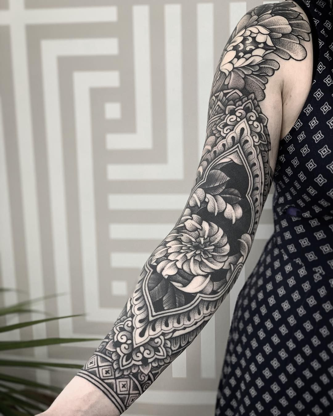 Ornamental Tattoo Artist Jack Peppiette Artwoonz Tattoo Artists Sleeve Tattoos Arm Tattoos
