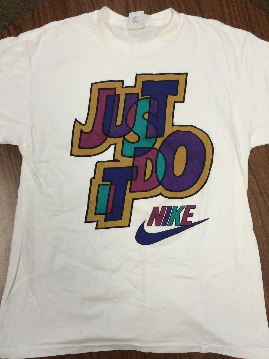 7832a01d 80s Vintage Just Do It NIKE T-Shirt | Sweet Tees | Nike, T shirt, Shirts
