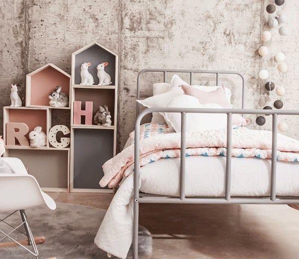 Ideas deco habitaciones infantiles de estilo n rdico para - Habitaciones estilo nordico ...