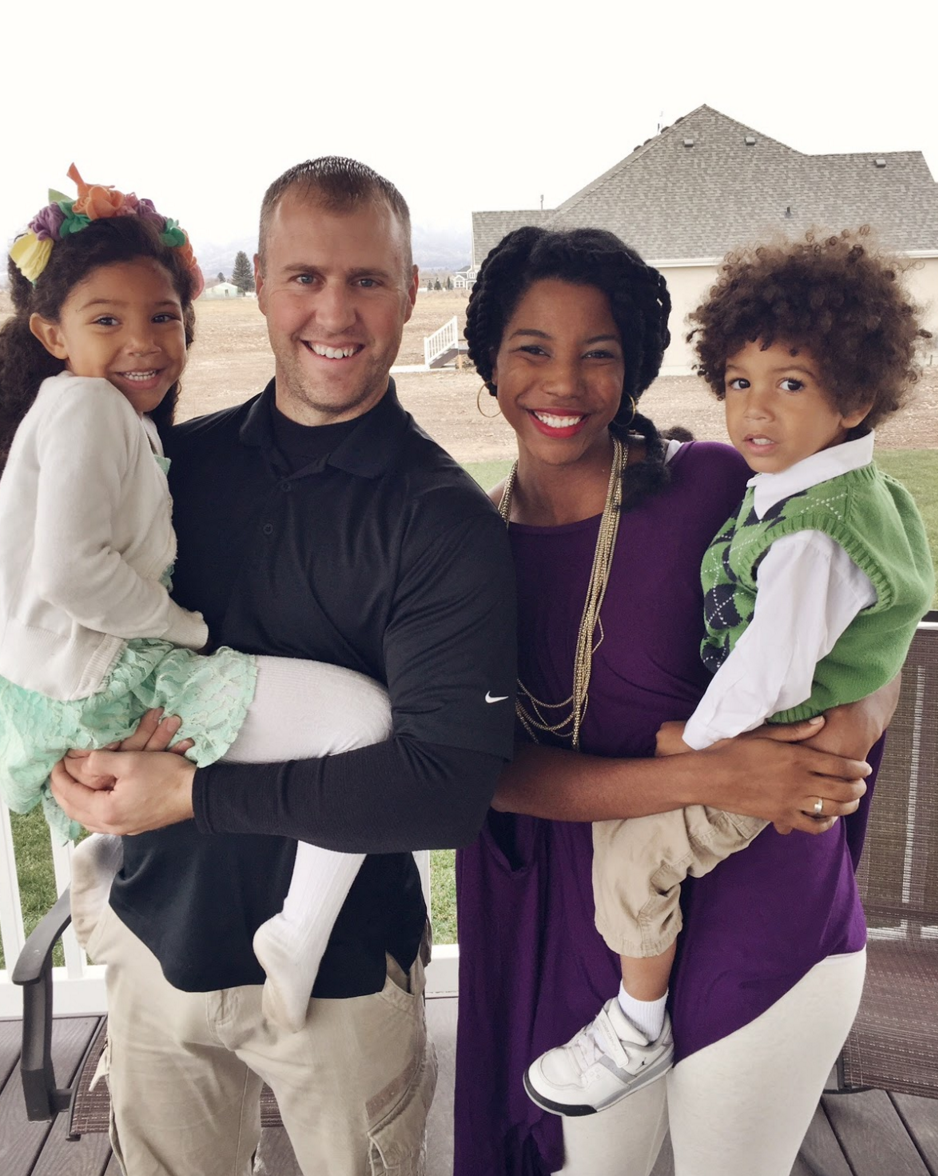 Interacial Top featured multiracial family meet the borget family via swirl