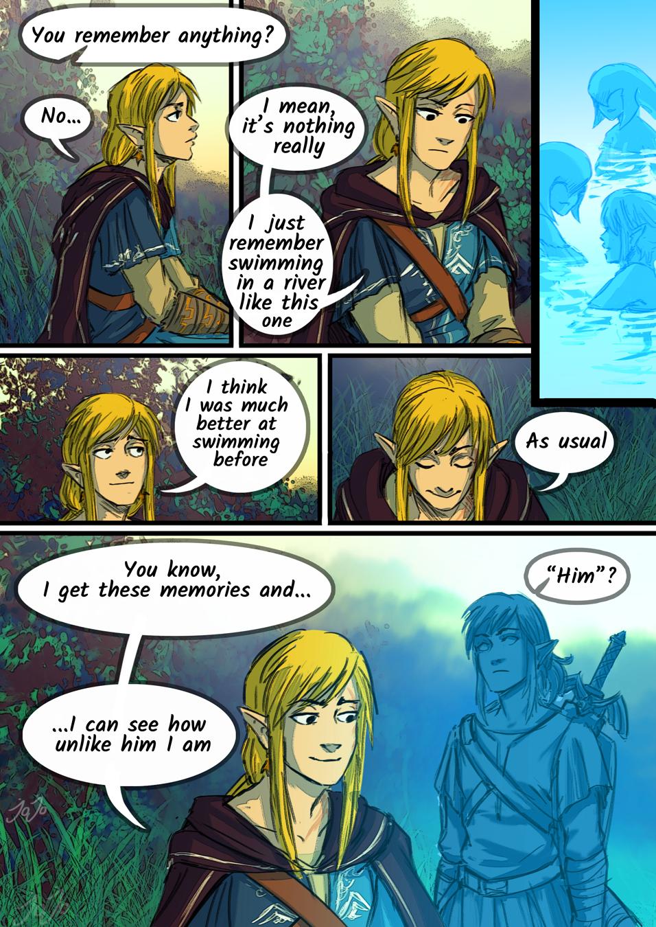 Linked Universe Memories Pt 2 Legend Of Zelda Memes Legend Of Zelda Legend Of Zelda Breath