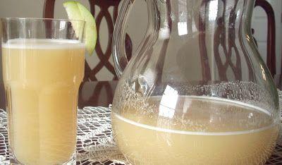mis recetas peruanas: Hacer agua de manzana