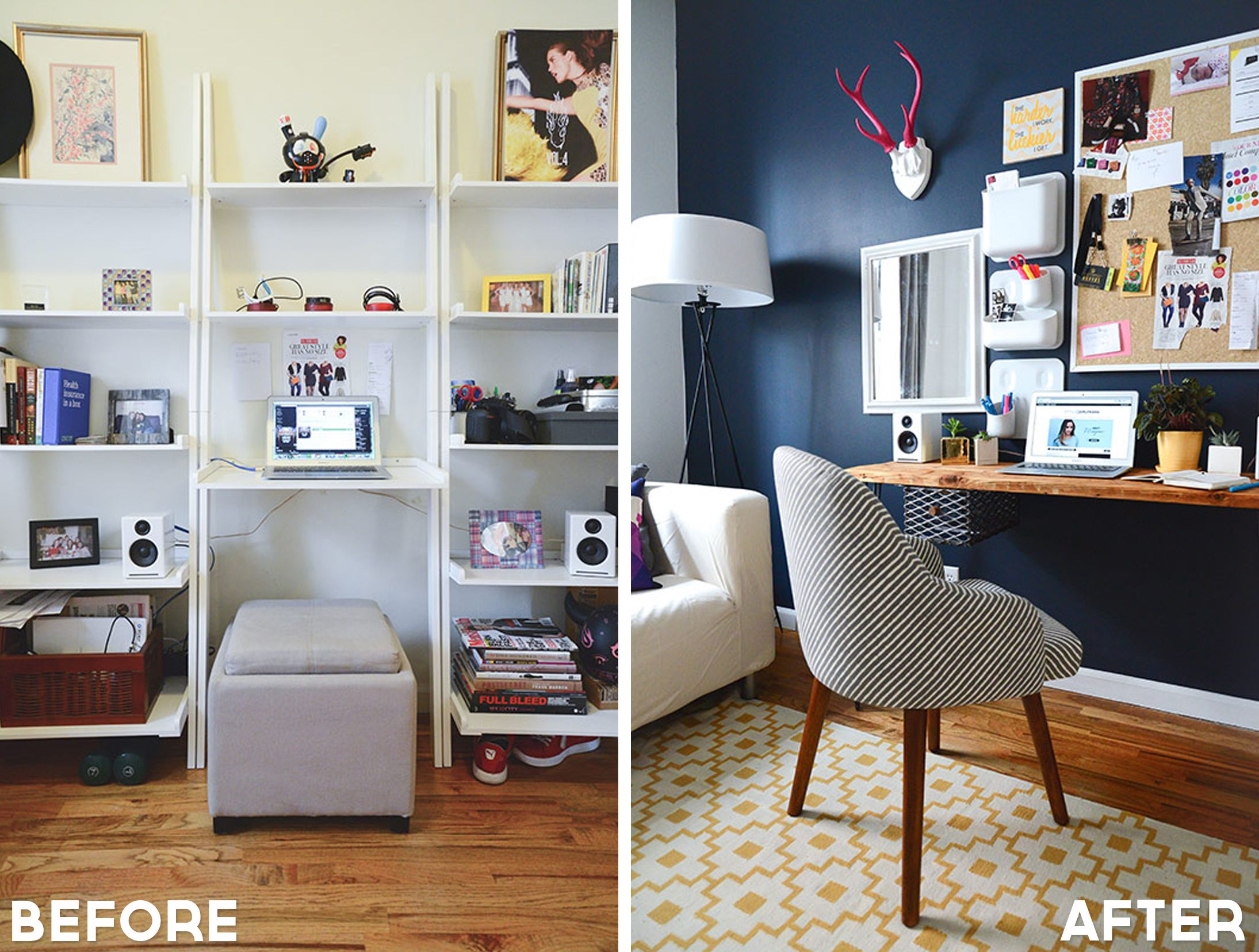 School Is Right Around The Corner And It Might Be Time To Makeover That Old Office Check Out These 14 Amazing Space Makeovers