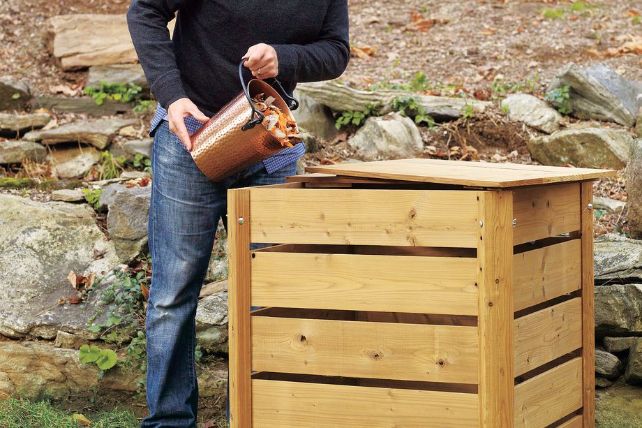 How to Build a Compost Bin in 2020 Compost bin, Wooden
