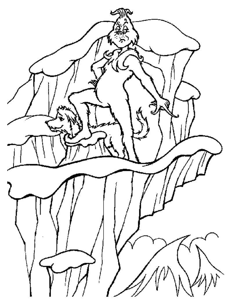 Grinch coloring page | Grinch | Pinterest | Pintura en tela, Tela y ...