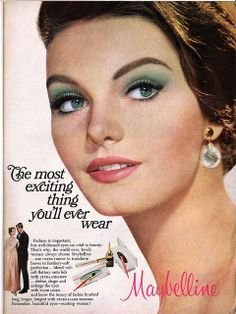 Image result for 1967 makeup ad