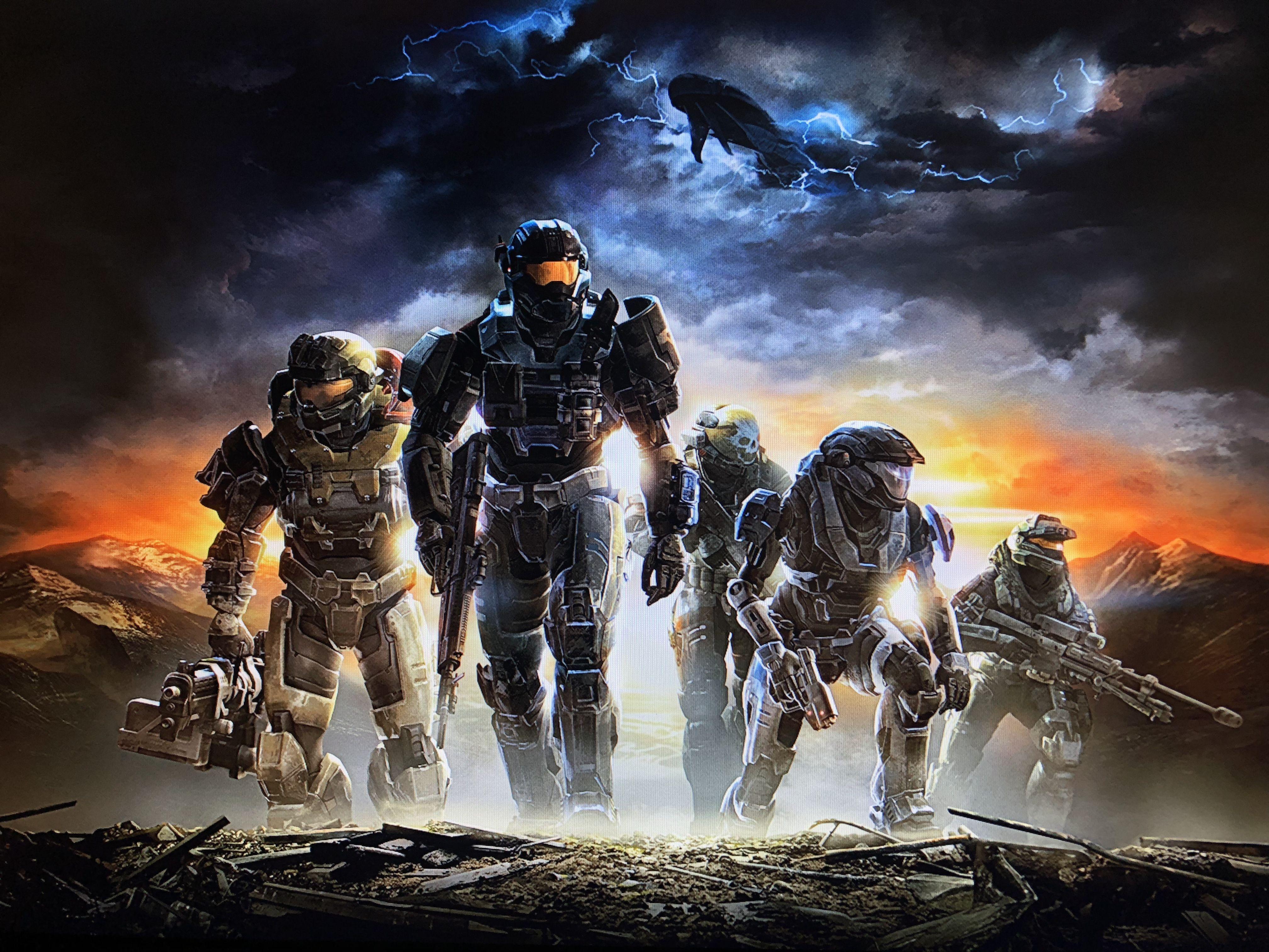 Halo Reach Noble Team Halo reach, Halo game, Master chief
