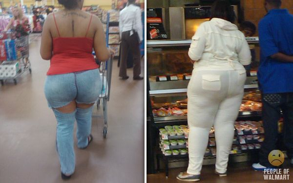 Bilderesultat for fat people at walmart