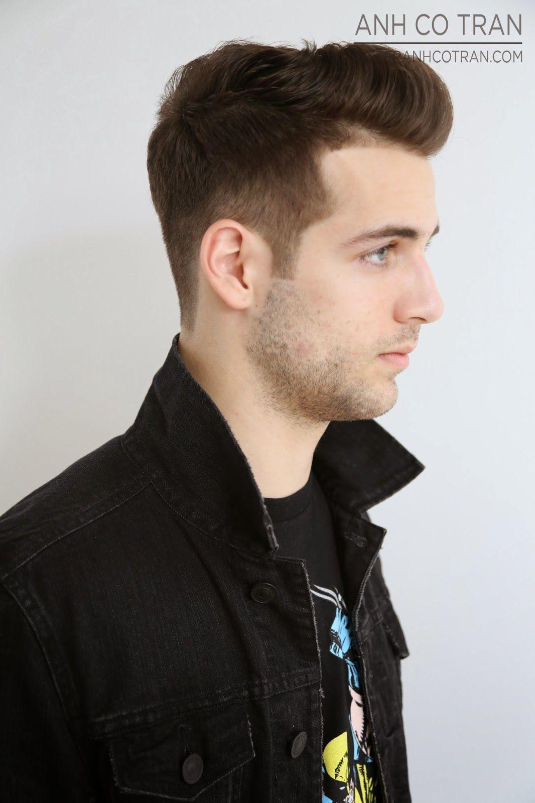 La A James Dean Esque Mens Haircut At Ramireztran Cutstyle Anh